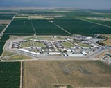 The Central California Women's Facility has almost twice as many prisoners as it is designed to hold.