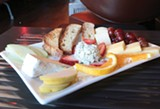 JAMIE SOJA - The cheese plate is a terrific value, if not tremendously cutting edge.