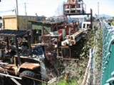 The city attorney says Vice Mayor Booze's junkyard is a threat to public health.