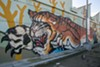 The colorful mural at Fruitvale BART Station is king of the urban jungle.