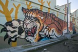BERT JOHNSON - The colorful mural at Fruitvale BART Station is king of the urban jungle.