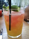 The Comal Swizzle at Comal, one of twenty restaurants partcipating in Berkeley's first-ever Restaurant Week.