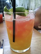 LUKE TSAI - The Comal Swizzle at Comal, one of twenty restaurants partcipating in Berkeley's first-ever Restaurant Week.