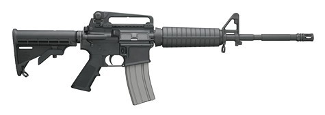 The Connecticut gunman used a .223 Bushmaster to kill twenty children.
