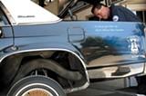 MADELEINE BAIR - The cop car lowrider.