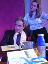 JOHN A MCMULLEN II - The courtship between Garfield (John Hale) and Kate (Karly Shea) is oddly transfixing.