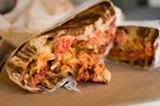 CHRIS DUFFEY - The East Coast flavors in the Reuben were pitch-perfect.