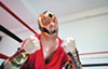 <i>The Elaborate Entrance of Chad Deity</i> is populated by heroes and villains.