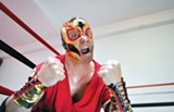 DAVID ALLEN - The Elaborate Entrance of Chad Deity is populated by heroes and villains.
