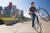 The Embarcadero offers wide-open flat spaces for biking, walking, and skateboarding.