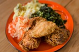 CHRIS DUFFEY - The fried chicken may be the best in the East Bay.