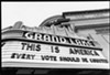 The Grand Lake Theater opined about the 2000 election.
