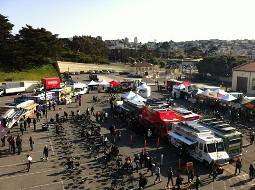 The granddaddy of them all: Off the Grid at Fort Mason Center