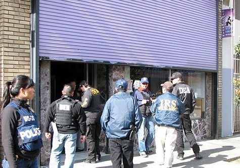 The IRS and other federal agents raided Oaksterdam last week.