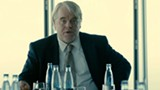 The late Philip Seymour Hoffman works with a secret anti-terrorism team in A Most Wanted Man.