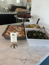 The main focus of Communite will be a deli case filled with six to eight different salads.