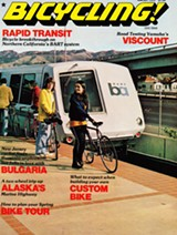 "The March 1975 issue of Bicyling magazine featured the EBBC's ""bicycle breakthrough"" on the three-year-old BART system."
