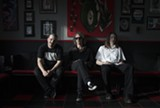 The members of Floor: Steve Brooks, Henry Wilson, and Anthony Vialon.
