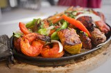 CHRIS DUFFEY - The Mt. Everest Sizzling Platter is a steamy, spicy extravaganza.