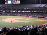 ETHAN BLOCH/FLICKR(CC) - The owners of the A's closed off the third deck so that they could, um, sell fewer tickets ...?