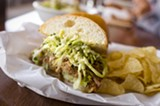 CHRIS DUFFEY - The Pulled Piggie is Southie's tastiest sandwich.