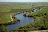 CALIFORNIA DEPARTMENT OF WATER RESOURCES - The Sacramento-San Joaquin River Delta, a series of channels and farms, supplies freshwater to agriculture and 25 million Californians.