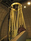 The three-meter telescope at Lick.