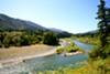 The Trinity River.