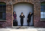 APRIL RENAE - The trio's new work combines Eastern European tunes, poetry, movement, and original music.
