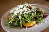 CHRIS DUFFEY - The wild arugula salad.
