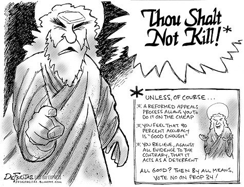 Thou Shalt Not Kill?