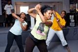 ERIKA PINO - Tiana Jones-Bey (center) and dancers.