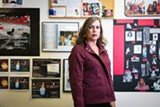 STEPHEN LOEWINSOHN - Tiffany Woods of TransVision has a memorial wall in her Fremont office honoring local transgender women who have died.