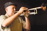 STEPHEN LOEWINSOHN - Tin Cup Serenade performs at Era Art Bar.