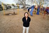 Toody Maher at Elm Playlot, soon to be reborn as Pogo Park.
