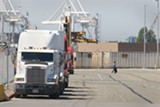 CHRIS DUFFEY - Trucks at the port = asthma in West Oakland.