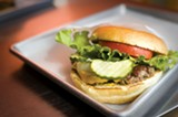 CHRIS DUFFEY - Trueburger's burgers are elevated to a foodie's state of grace.