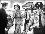 "CRAIG LAROTONDA/REVELATION STUDIOS - ""Truly practicing community policing"": OPD's airport squad."