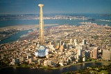 Tsui once proposed the world's largest tower in Oakland.