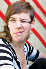 ANNA M. CAMPBELL - Tune-Yards' Merrill Garbus.