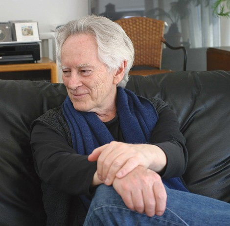 MORRISON'S MUSE: The late beat poet Michael McClure. - ONEHANDCLAPPING - CC