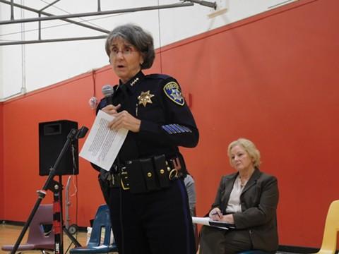 Oakland Police Chief Anne Kirkpatrick.