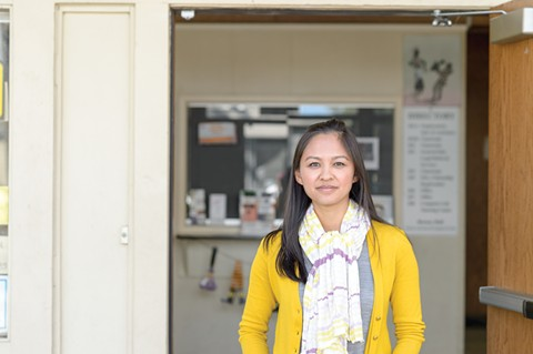 Thao Dang Weldy is worried about the ballpark's impact on small businesses. - PHOTO BY GEORGE BAKER, JR.