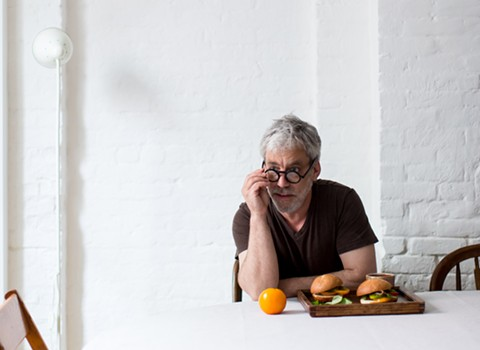 David Tanis in his New York home. - PHOTO COURTESY OF ALICE GAO OF KINFOLK MAGAZINE