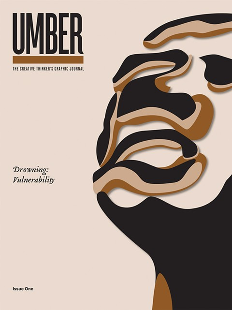 The cover of Umber's debut issue.