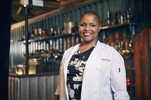 Tanya Holland is one of two local chefs on this season of Top Chef. - PHOTO COURTESY OF BRAVO/TOMMY GARCIA
