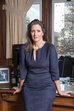Libby Schaaf is the mayor of Oakland. - LORI EANES