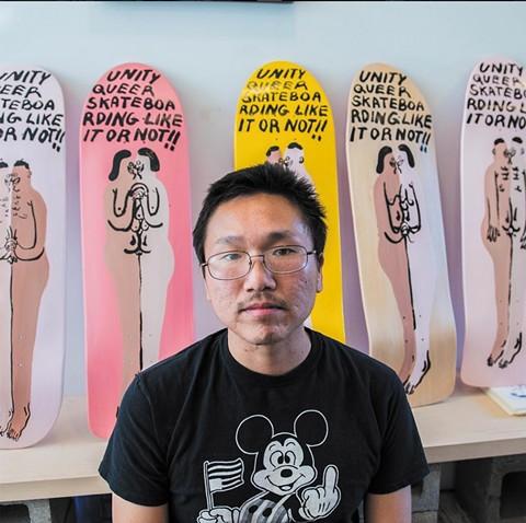 Unity Mart co-founder Jeffrey Cheung. - PHOTO COURTESY OF UNITY MART'S INSTAGRAM