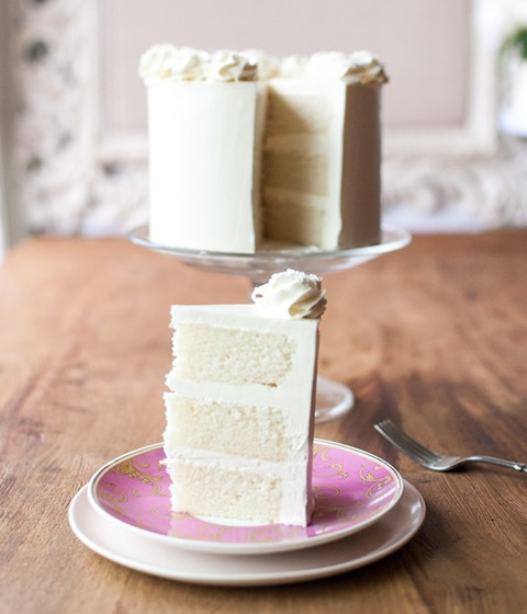 A custom vanilla bean cake with Swiss meringue buttercream. - PHOTO COURTESY OF A GIRL NAMED PINKY