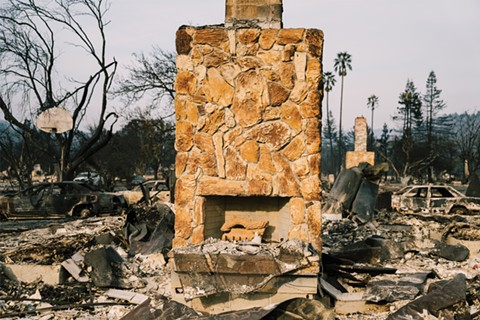 The North Bay fires killed 44 people. - PHOTO BY TALIESIN GILKES-BOWER